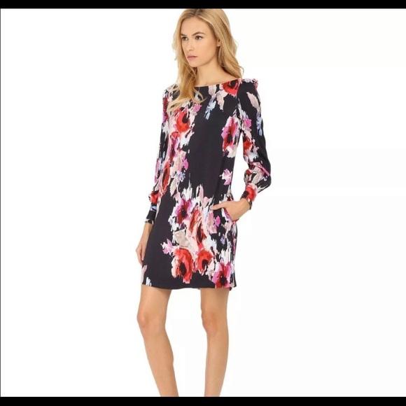 Kate Spade Hazy Faded Rose Floral Dress